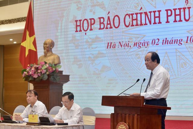Bộ trưởng Mai Tiến Dũng: Nền kinh tế Việt Nam đã đi qua đáy và đang phục hồi hình chữ V - Ảnh 1.